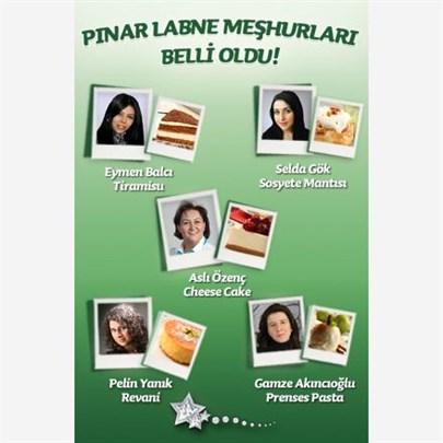Pınar Labne meşhurları belli oldu!